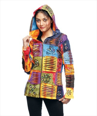 rising-international-womens-tie-die-colorful-jacket-sf373-2xl
