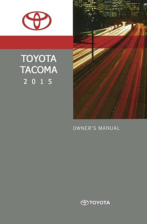 amazon com bishko automotive literature 2015 toyota tacoma owners rh amazon com 2012 tacoma owners manual 2012 tacoma owners manual and air filter