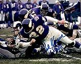 Autographed Paul Krause 8x10 Minnesota Vikings Photo