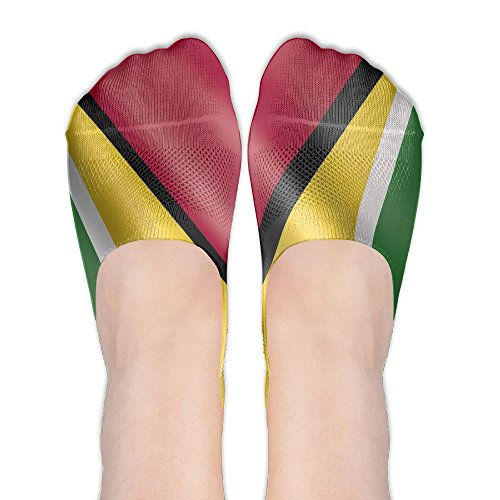 - Guyana Flag Printing Womens Non Slip Loafers Ankle Short Low Cut No Show Thin Socks For Yoga Train Hiking Cycling Running Sports Soccer