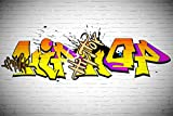 Daniu Brick Wall Photo Background Graffiti Party Backdrops Photography Vinly 7x5 Daniu-dn032