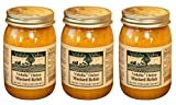 Vidalia Valley Onion Mustard Relish, 17 Oz (Pack of 3) ALL Natural, NO Preservative Review