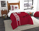 The Northwest Co mpany MLB Cincinnati Reds Twin 2-piece Comforter Set
