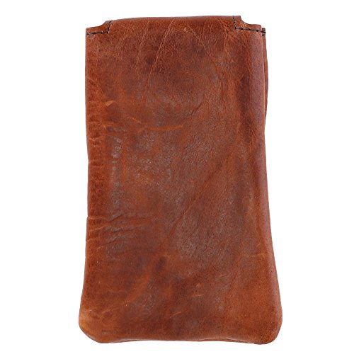 Boston Leather Textured Bison Leather Eyeglass Case, Tucson by Boston Leather (Image #2)