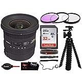 "Sigma 10-20mm f/4-5.6 EX DC HSM Lens for""Canon"" Digital SLR Cameras + Accessory Kit"