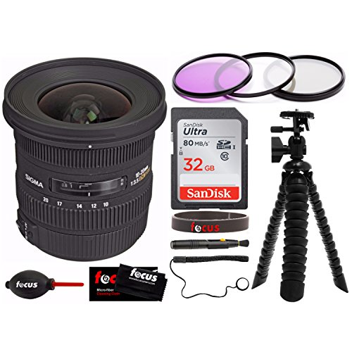 Sigma 10-20MM F/4-5.6 EX DC HSM Lens for Canon Digital SLR C