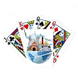 beatChong Landmark Travel Journey Ukraine Plane Poker Playing Cards Tabletop Game Gift