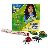 Insect Lore Live Baby Ladybug Larvae - Ladybug Growing Kit Refill with Ladybug Life Cycle Toy Figurines - Ship Now
