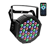 Stage Lighting Par Light 36x1W LED RGB 7 Channel with Remote for DJ KTV Disco Party Bar (1 PC)