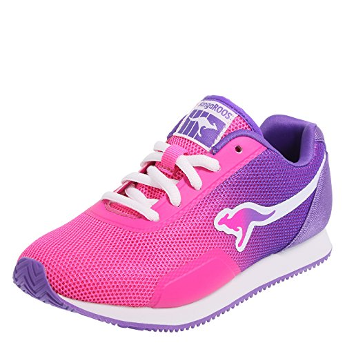 KangaROOS Pink Purple Girls' Shadow Jogger 4 Regular