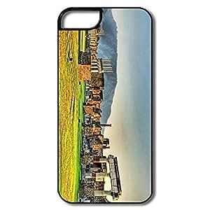 IPhone 5/5S Cases, Pompeii Scavi Ruins Astrewn White/black Cases For IPhone 5 5S