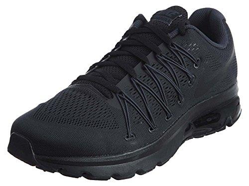 Nike Herren Air Max Excellerate 5 Laufschuhe Schwarz / Schwarz-Anthrazit