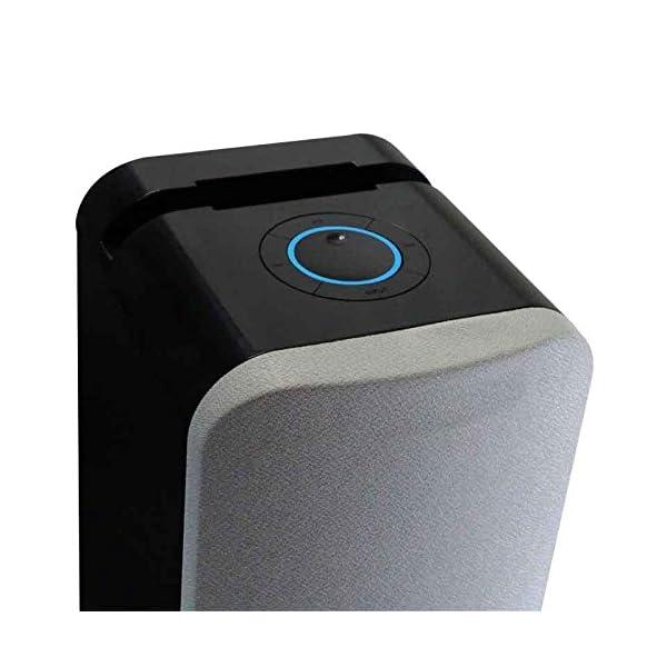 Metronic 477092 Colonne Bluetooth Nuances de Grey 240 W avec USB Play & Charge / Radio FM / Réglage des basses 2