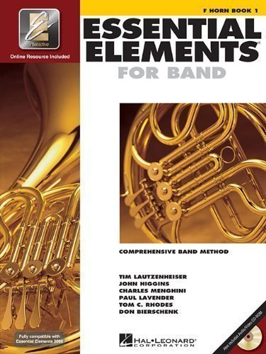 Essential Elements 2000: Book 1 with CD-ROM (French Horn) published by Hal Leonard Corporation (1999)