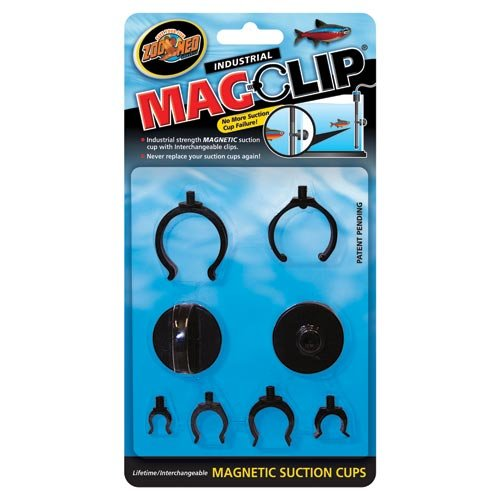 Cups Magnetic Suction - Zoo Med MagClip Magnetic Suction Cups