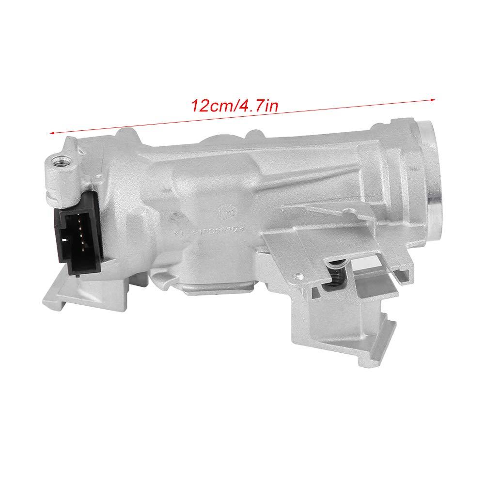 Interruptor de encendido Bloqueo de la direcci/ón Carcasa Barril Bloqueo de la direcci/ón Arrancador de encendido para 1K0905851B 1K0905865