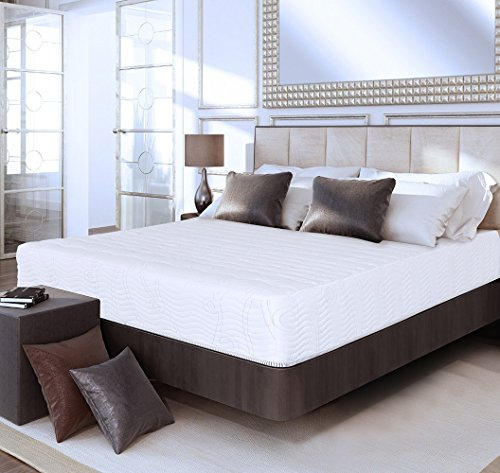 Olee Sleep 10 Inch Omega Hybrid Gel Infused Memory Foam And Pocket Spring Mattress  King