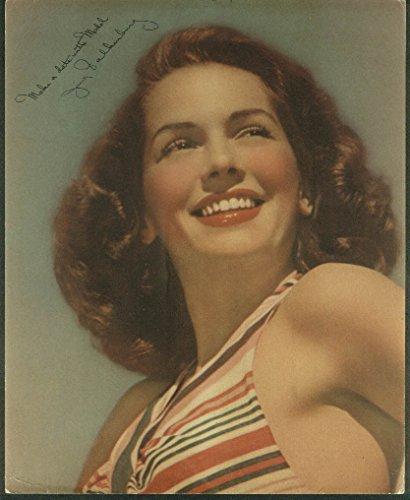 (Jinx Falkenburg Make a Date with Model Tobacco mail-away premium 1940s)