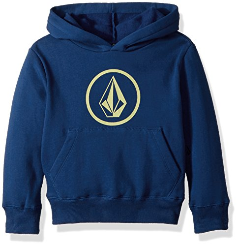 Volcom Boys Stone Pullover Fleece Hoodie Little Youth, Camper Blue, 7 ()