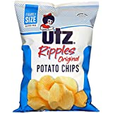Utz Ripple Chips, Regular, Ripple Regular, 9.5 oz. Bag