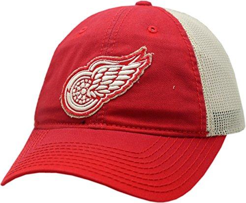 Ccm Vintage Cap - Detroit Red Wings Snapback Vintage Logo Washed Away Mesh 12508
