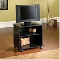 Mainstays TV Cart for Flat Screen TVs up to 26