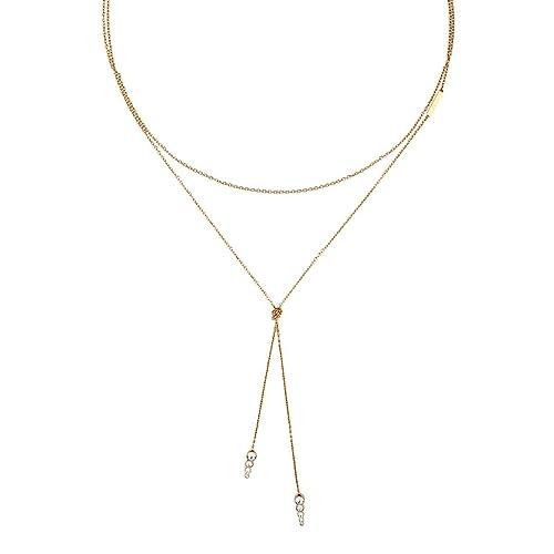 Esprit Collar cadena Mujer acero inoxidable - ESNL00212299 ...