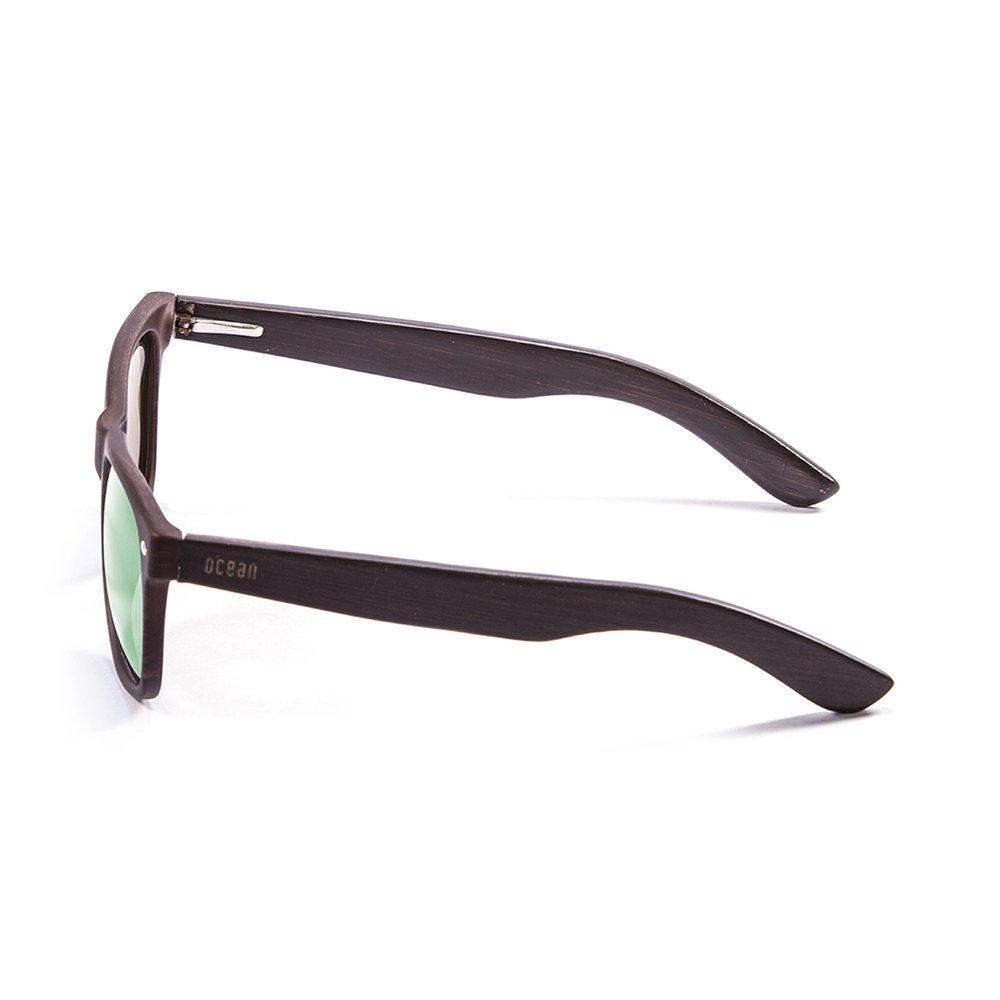 Colore Sunglasses Occhiali bambù Beach Scuro da Ocean Sole Fx6SS