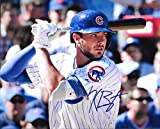 Kris Bryant Chicago Cubs Autographed Signed 8 x 10 Photo -- COA - (Mint Condition)