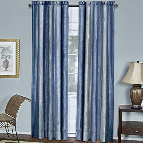 Achim Home Furnishings Ombre Window Curtain Panel, 50 by 84