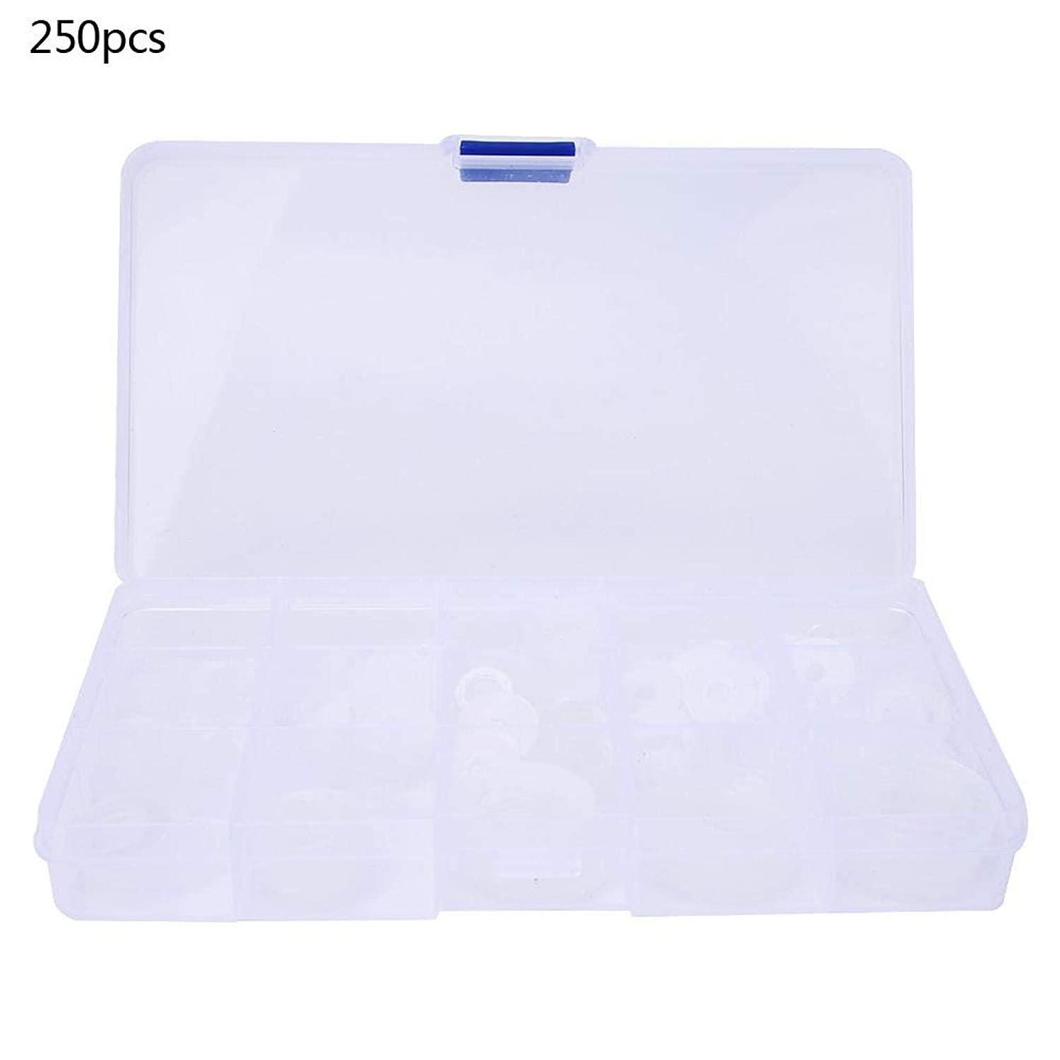 250PCS Nylon Washer Durable Material Firm Nylon Flat Washer Water Pipe Leakproof Sealing Gasket Assortment Kit Wearable for Home for Industry