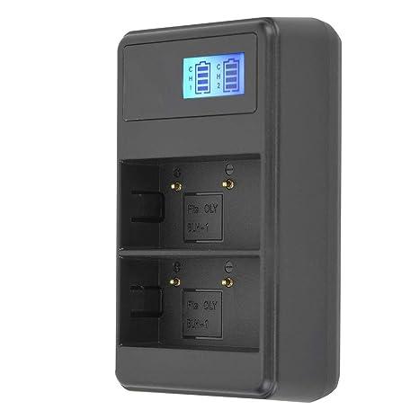 Topiky Cargador de Batería Portátil BLH-1,Cámara USB ...