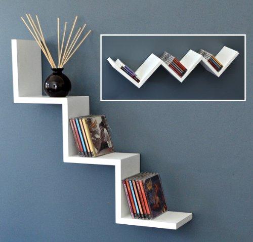 etagere murale moderne. Black Bedroom Furniture Sets. Home Design Ideas