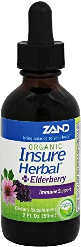 Zand Org Insure Herbal Elderberry 2oz