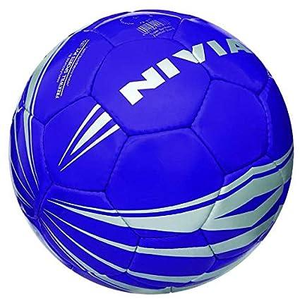 Nivia Super Synthetic Football, Size 5  Violet  Match Balls