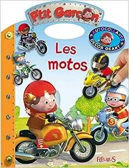 Book's Cover of Les motos (Français) Broché – 19 juin 2015