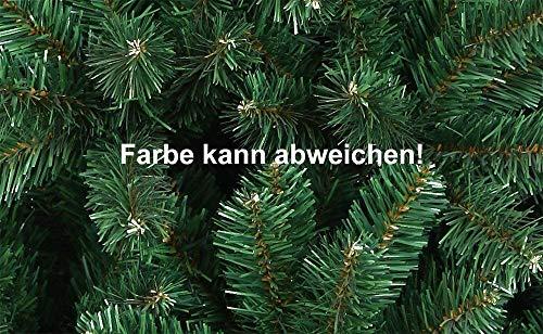 Mctech, albero di Natale artificiale, colore: verde, PVC, 180 cm 3 spesavip