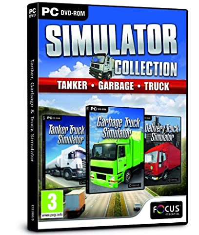 Tanker, Garbage and Truck Simulator Collection Triple Pack (Truck Simulator Us)