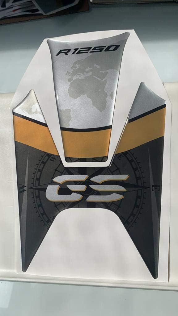 Prot/ège-r/éservoir Tankpad en r/ésine 3D compatible avec BMW R 1250 GS 2019 GP-577 Or M exclusif