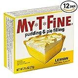 jello lemon pie filling - My T Fine Pudding, Lemon, 2.75-Ounce (Pack of 12)