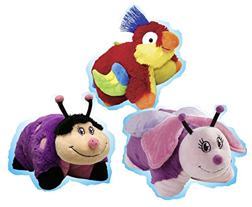 Pillow Pets Pee-Wees Plush Stuffed Animal Toy Rainforest ...