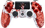 """""""Bloody Hands"""" Ps4 Custom UN-MODDED Controller Exclusive Unique Design with CUSTOM TOUCHPAD"""