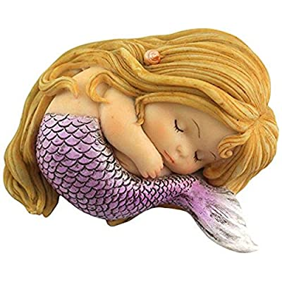 Top Collection Miniature Fairy Garden and Terrarium Sleeping Little Mermaid : Garden & Outdoor