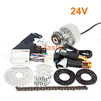 Image of Electronics & Gadgets 450W Newest Electric Bike Left Drive Conversion Kit Can Fit Most of Common Bicycle Use Spoke Sprocket Chain Drive for City Bike