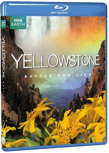 Blu-ray : Yellowstone: Battle for Life (Widescreen)