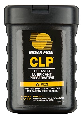 - Break-Free BFI-WW CLP Multi-Surface Wipes (20-Sheets),  6.75 x 3-Inch
