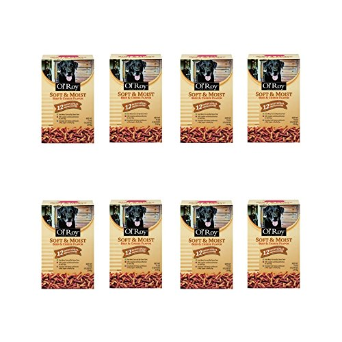 Ol' Roy Soft & Moist Beef & Cheese Flavor Dog Food 72 oz. Box, (8 pack) by Ol' Roy