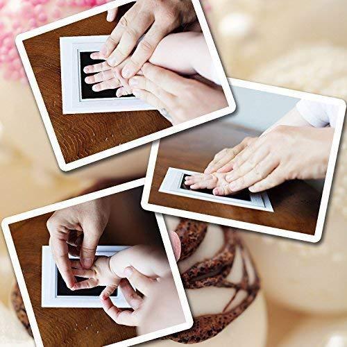 jigang 1Set Baby Handprint And Footprint Ink Pads Paw Print Ink Kits For Babies And Pets