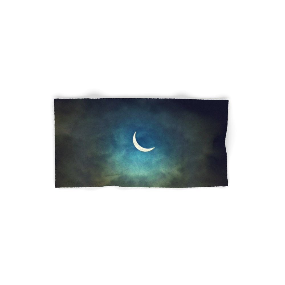 Society6 Solar Eclipse 1 Set of 4 (2 hand towels, 2 bath towels)