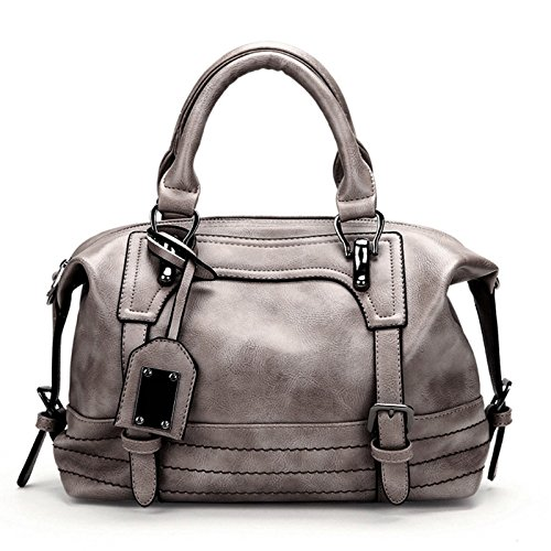 Gray Tote Gray Hobo JAGENIE Messenger Purse Women Bag Handbag Large Bags Shoulder wwIfqxUv